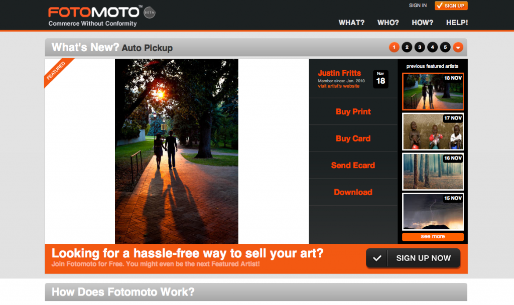 Featured Photo of 11-18-2010 on Fotomoto.com